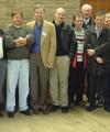 l-r: Brian-G3HBR, Roger-G4HBA, Dennis-PA7FM, Brian-G3SYC, Peter-PY5CC, Chris-G3WOS, Bo, OX3LX, Uffe-PA5DD,  Pierre-HB9QQ, Johan-ON4ANT, Paul-G4CCZ, Geert-ON4GG, Neil-G0JHC, Guy-ON4AOI, John-G0EVT, Trev-G3ZYY. Photo: G4ASR