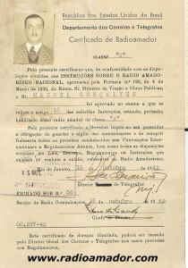Certificado 1942