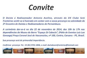 2º Encontro de Dxistas e Radioamadores de Pernambuco