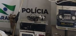 Polícia prende dono de rádio pirata